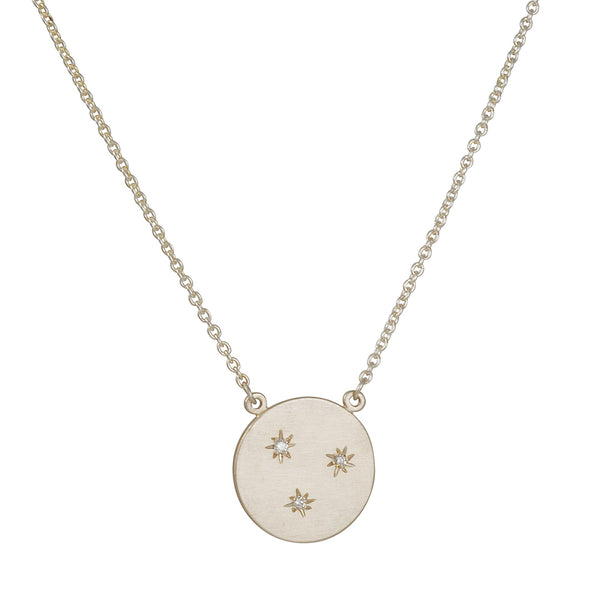 Sarah Swell - Starry Sky Circle Necklace