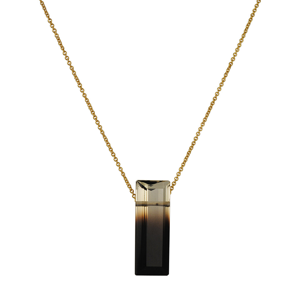 Margaret Solow - Small Zoned Quartz Necklace
