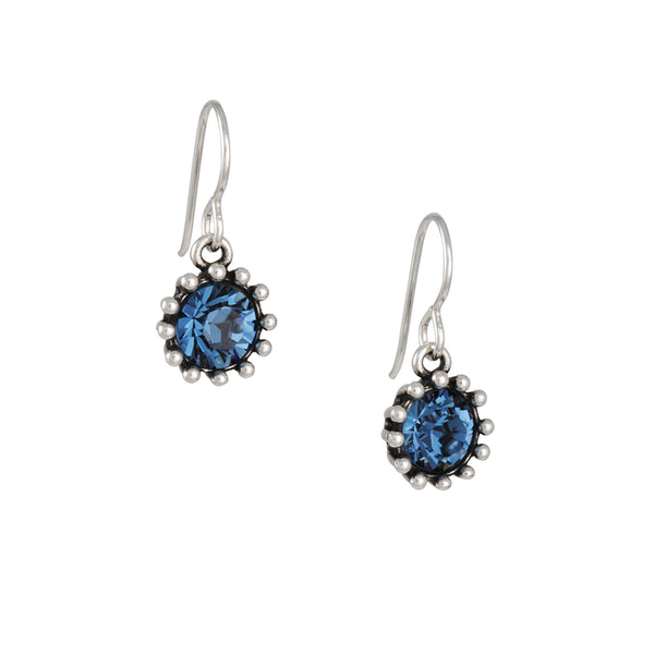 Patricia Locke - Cupcake Earrings in Denim