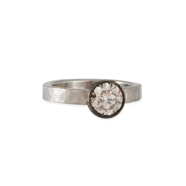 TAP by Todd Pownell - Bezel Set Diamond Ring