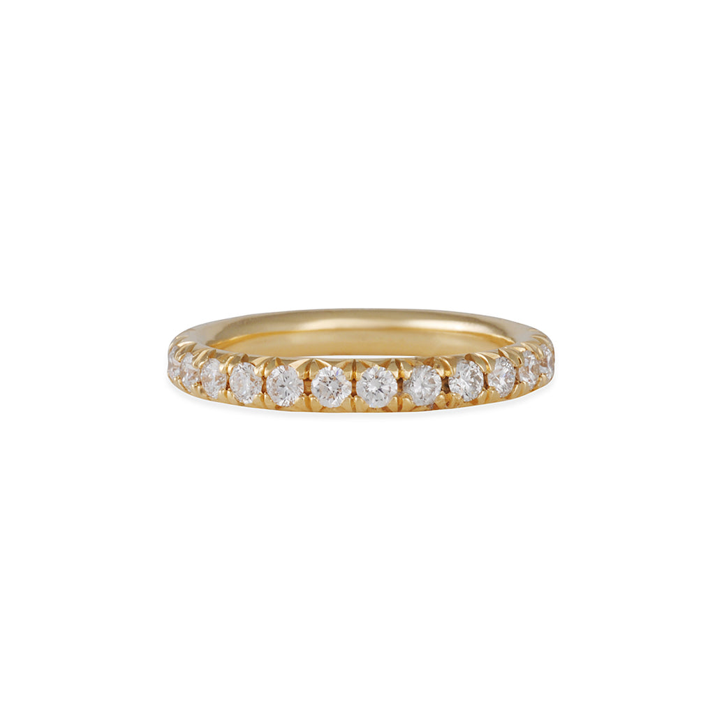 Diana Mitchell - French Set Eternity Band with2.5mm Diamonds