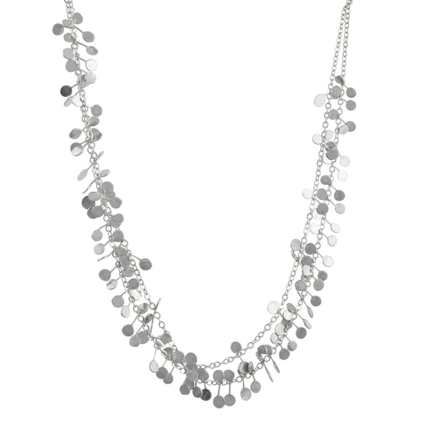 Zuzko Jewelry - Coined Necklace in Bright Sterling Silver
