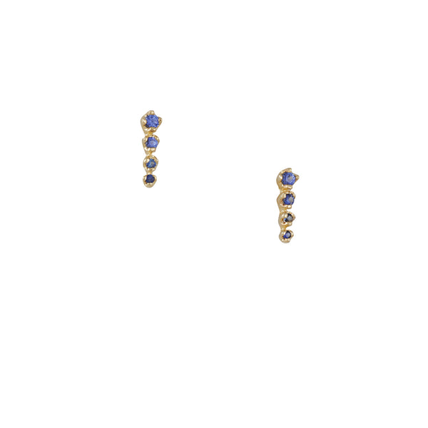 N+A New York - Sapphire Icicle Studs