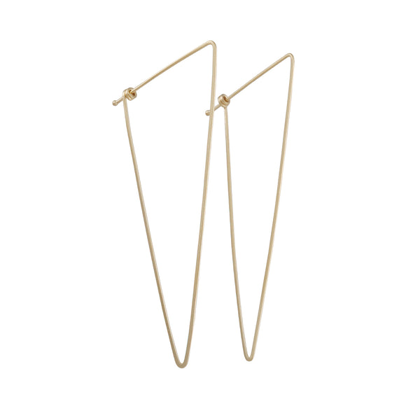 Carla Caruso - Scalene Hoop Earrings