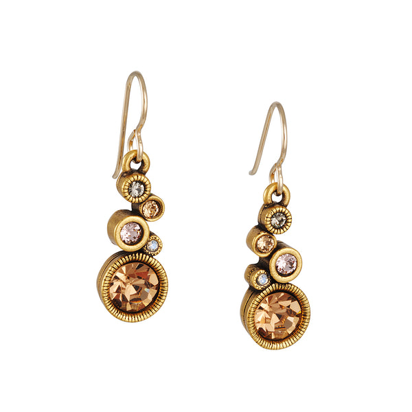 Patricia Locke - Encore Earrings in Champagne