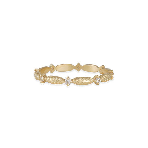 Megan Thorne - Evergreen Eternity Band in 18K Yellow Gold