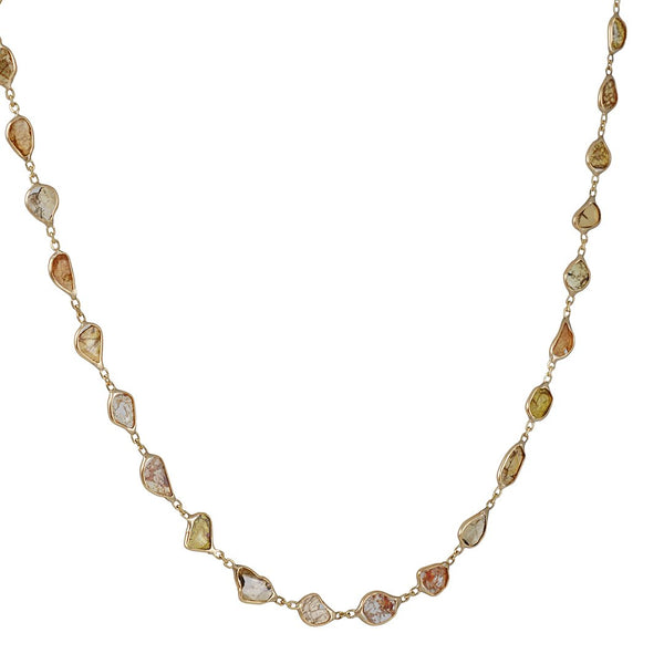 CP Collection - Autumn Diamond Slice Necklace