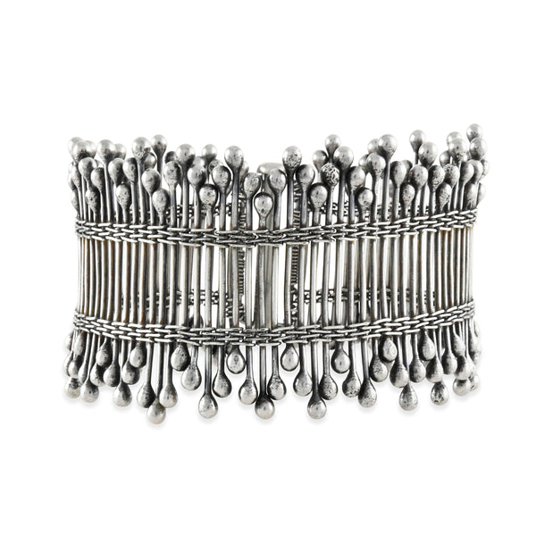 Zuzko Jewelry - Defenced Bracelet in Sterling Silver