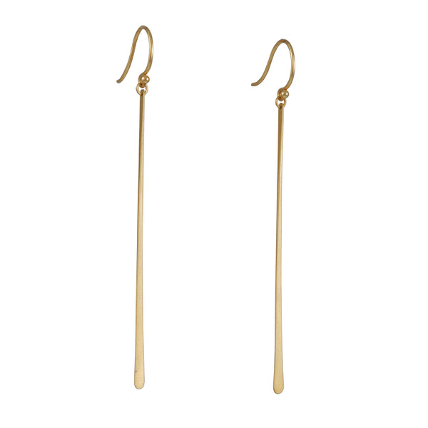 Carla Caruso - Single Fringe Drop Earrings