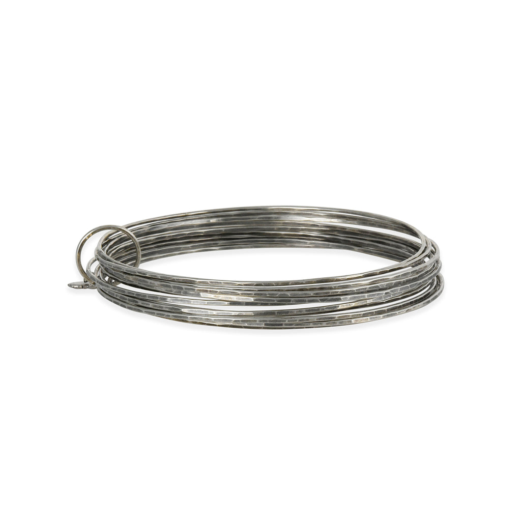 Zuzko Jewelry - Stacked Bangle Bracelet Set in Sterling Silver
