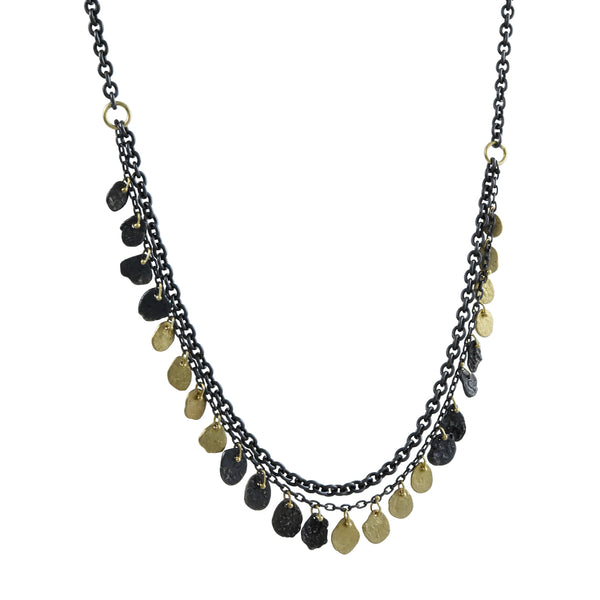 Sarah McGuire - Mixed Metal Double Kelp Necklace