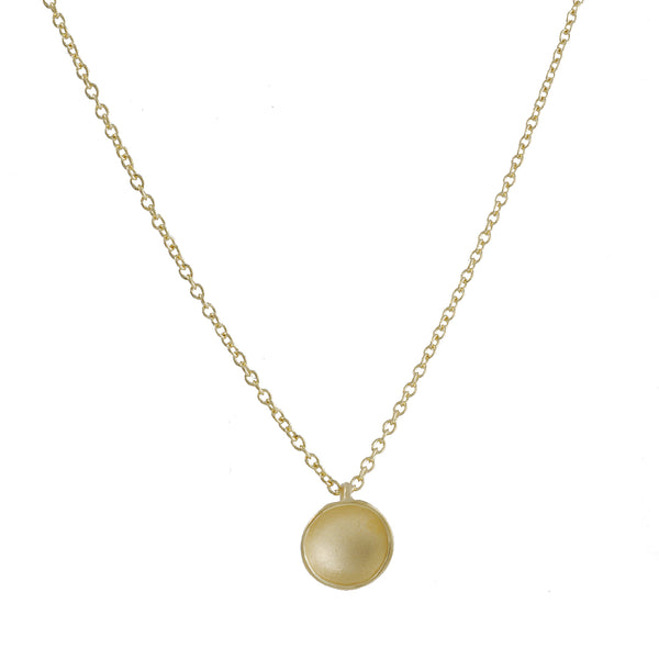 Sarah Richardson - Small Pod Necklace in Vermeil