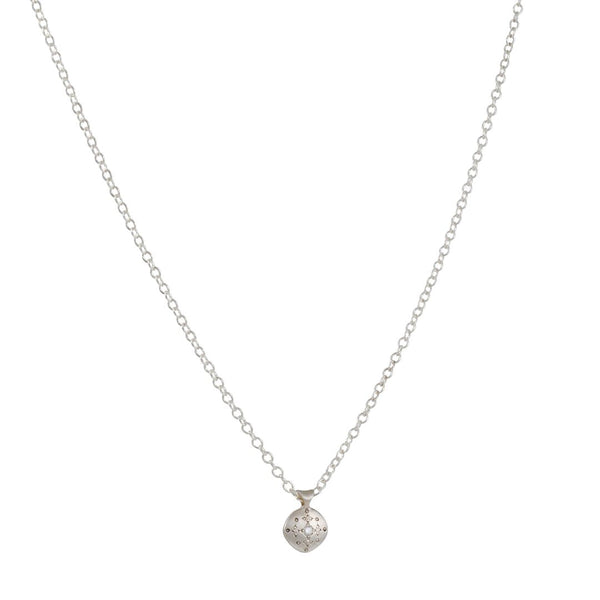 Adel Chefridi - Silver Lights Necklace with Diamond
