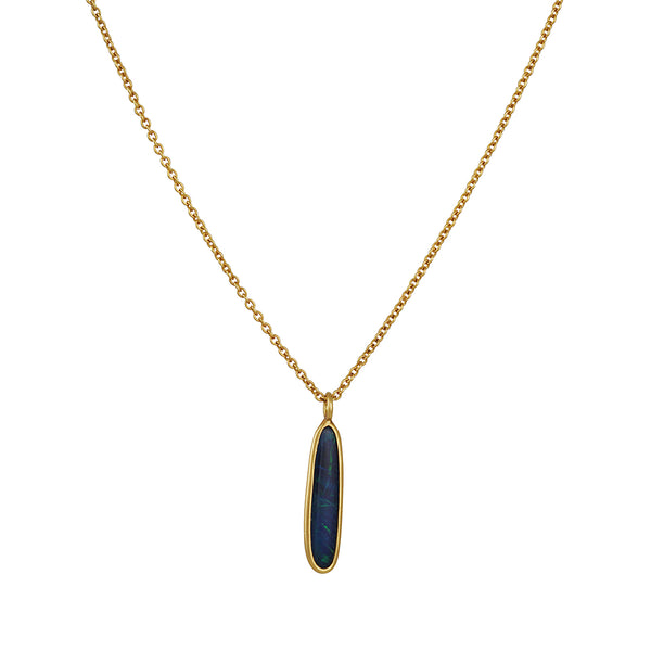 Kothari - Boulder Opal Stick Necklace