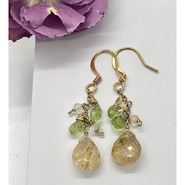 Danielle Mayes - Lemon Lime Drop Earrings