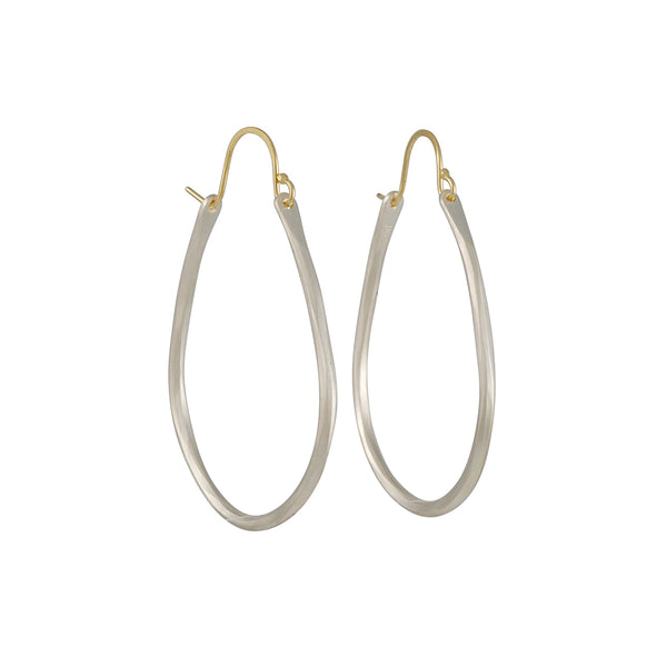 Sarah Mcguire - Small Anjou Hoops