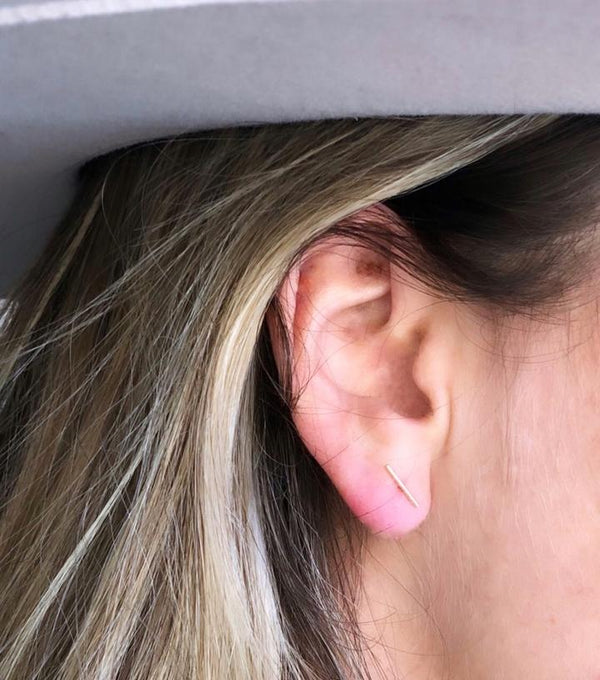 JaxKelly - Minimalist Bar Earring