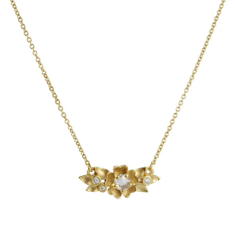 Megan Thorne - Buttercup Necklace With Rose Cut Diamond