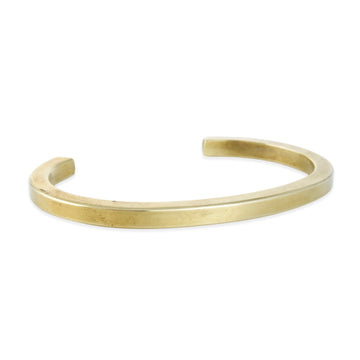 Craighill - Squared Uniform Cuff in Brass, Large