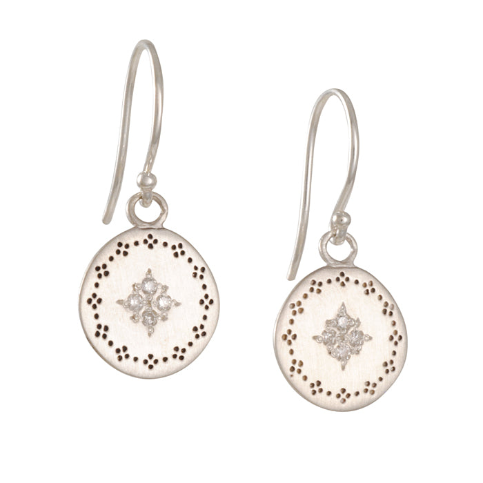 Adel Chefridi - Diamond Nostalgia Earrings