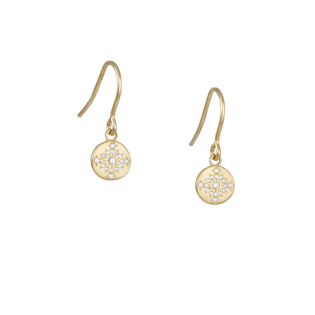 Adel Chefridi - Diamond Shimmer Earrings