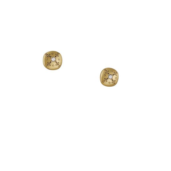 Adel Chefridi - Golden Lights Charm Studs