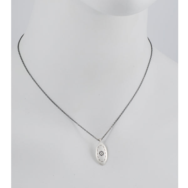 Adel Chefridi - Oblong Charm Necklace