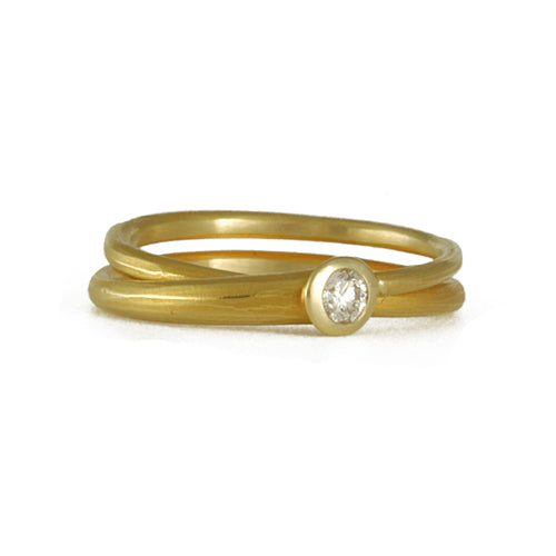 Ayesha Mayadas -  Diamond Wrap Ring