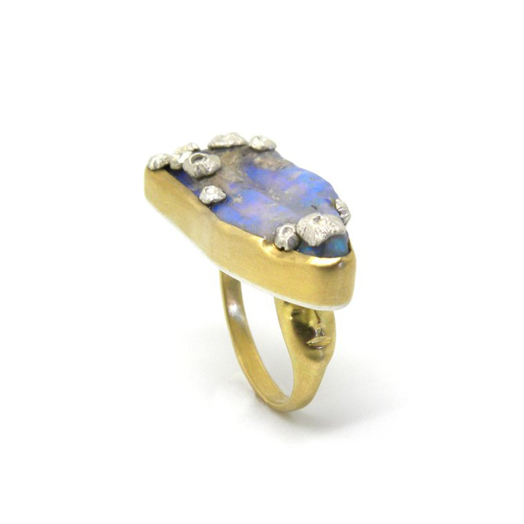 Hannah Blount - Melusine Opal Ancients Ring, size 6.5