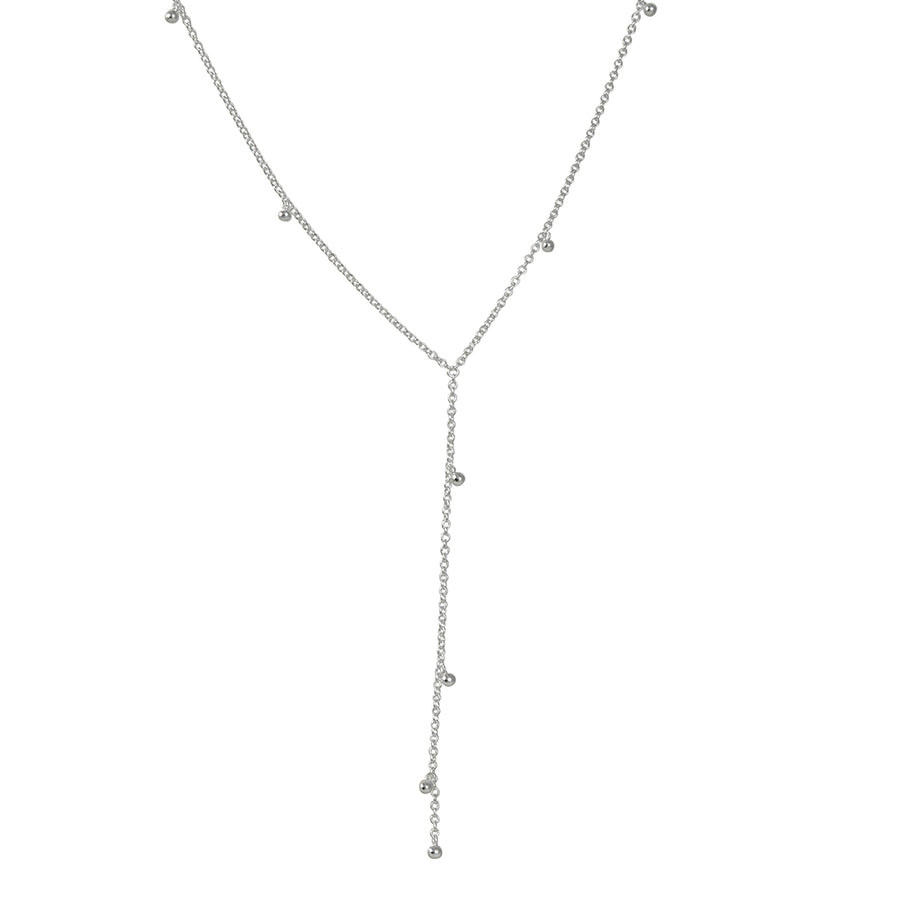 Tashi - Y Necklace with Drops