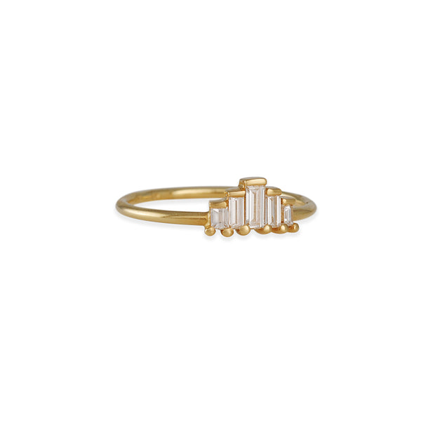 Artemer - Five Baguette Diamond Rings