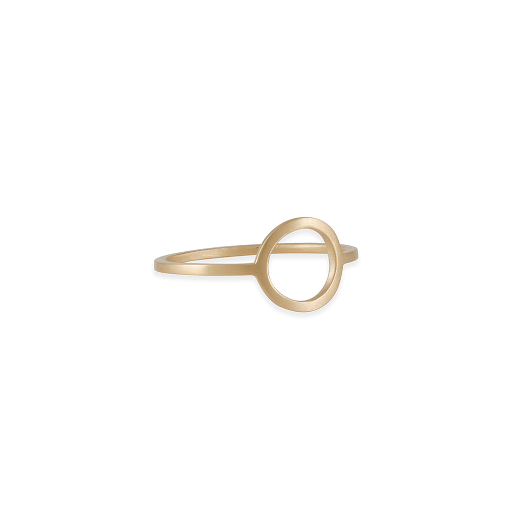 Carla Caruso - Edgy Circle Ring