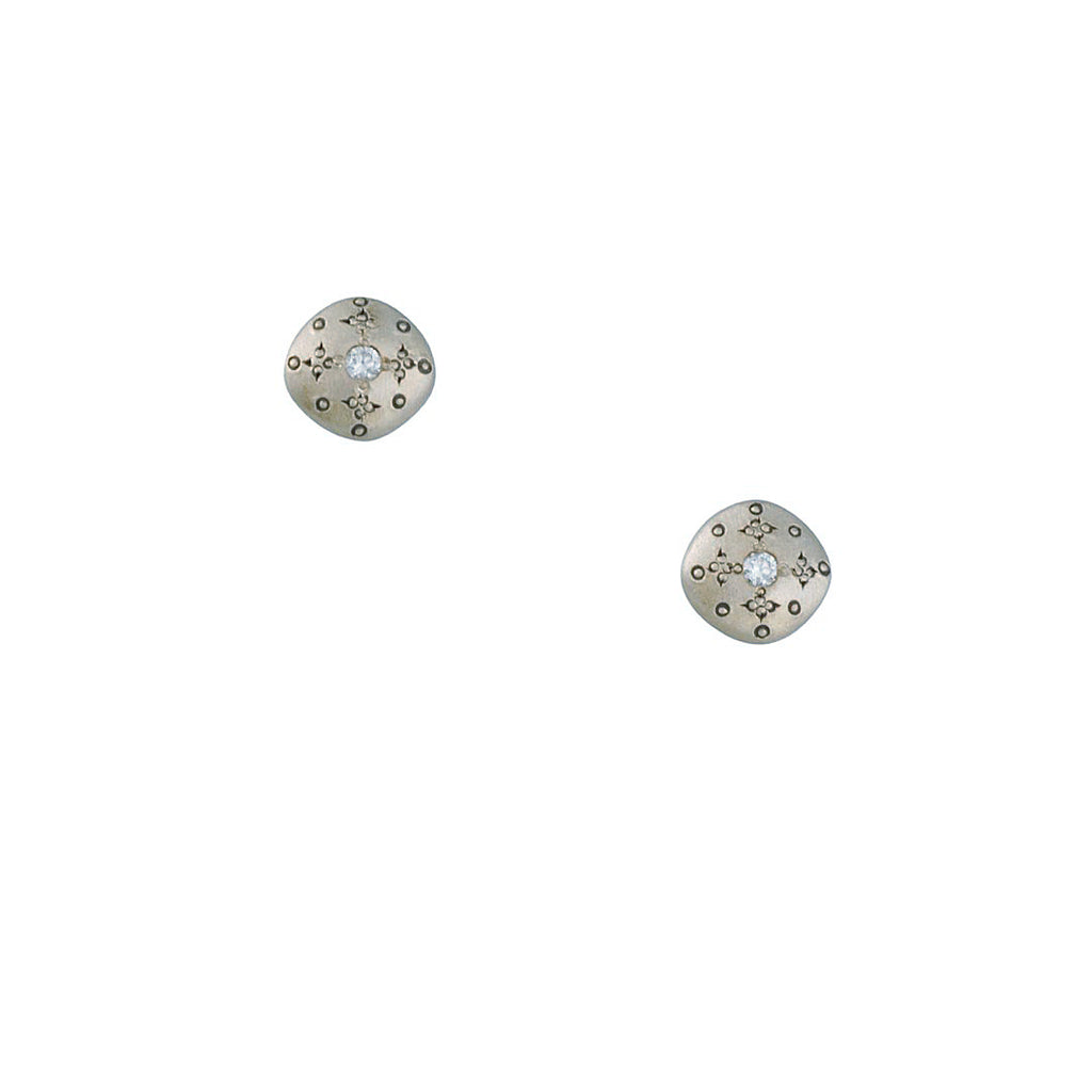 Adel Chefridi - Silver Lights Stud Earrings