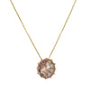 Suzanne Kalan - Multi Prong Swiss Rose de France Quartz Necklace