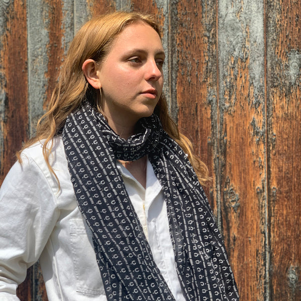 Gray Market Designs- Mali Night Scarf