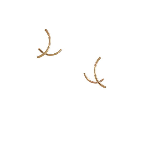K/ller - Petite Arc Stud Earrings