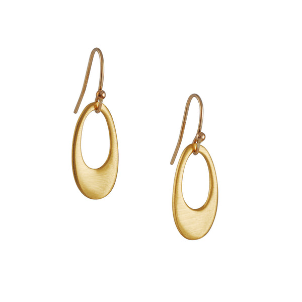 Philippa Roberts - Open Oval Earrings
