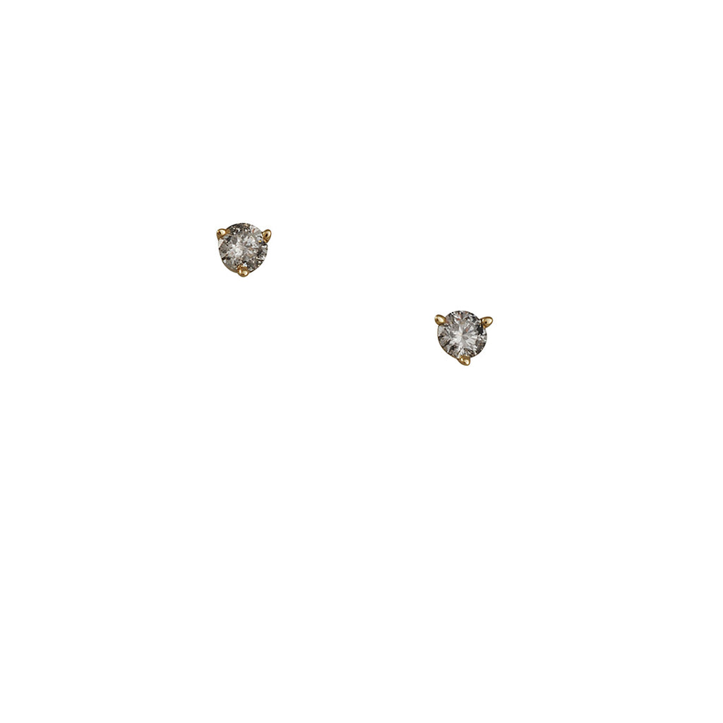 Cp Collections - Salt and Pepper 3mm Diamond Studs