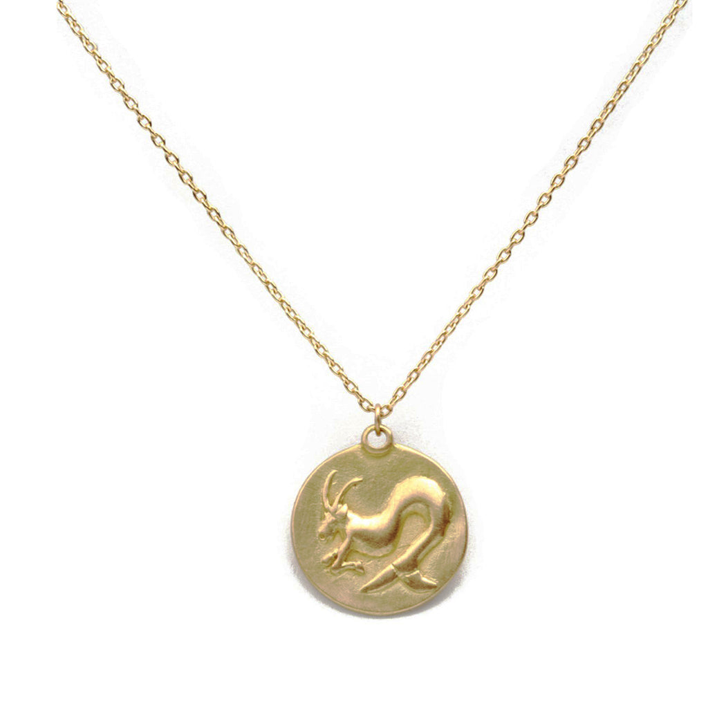 Marian Maurer - Zodiac Medallion Necklace