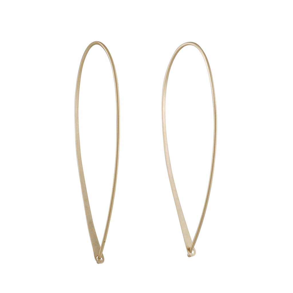 Carla Caruso - Large Bow Hoops