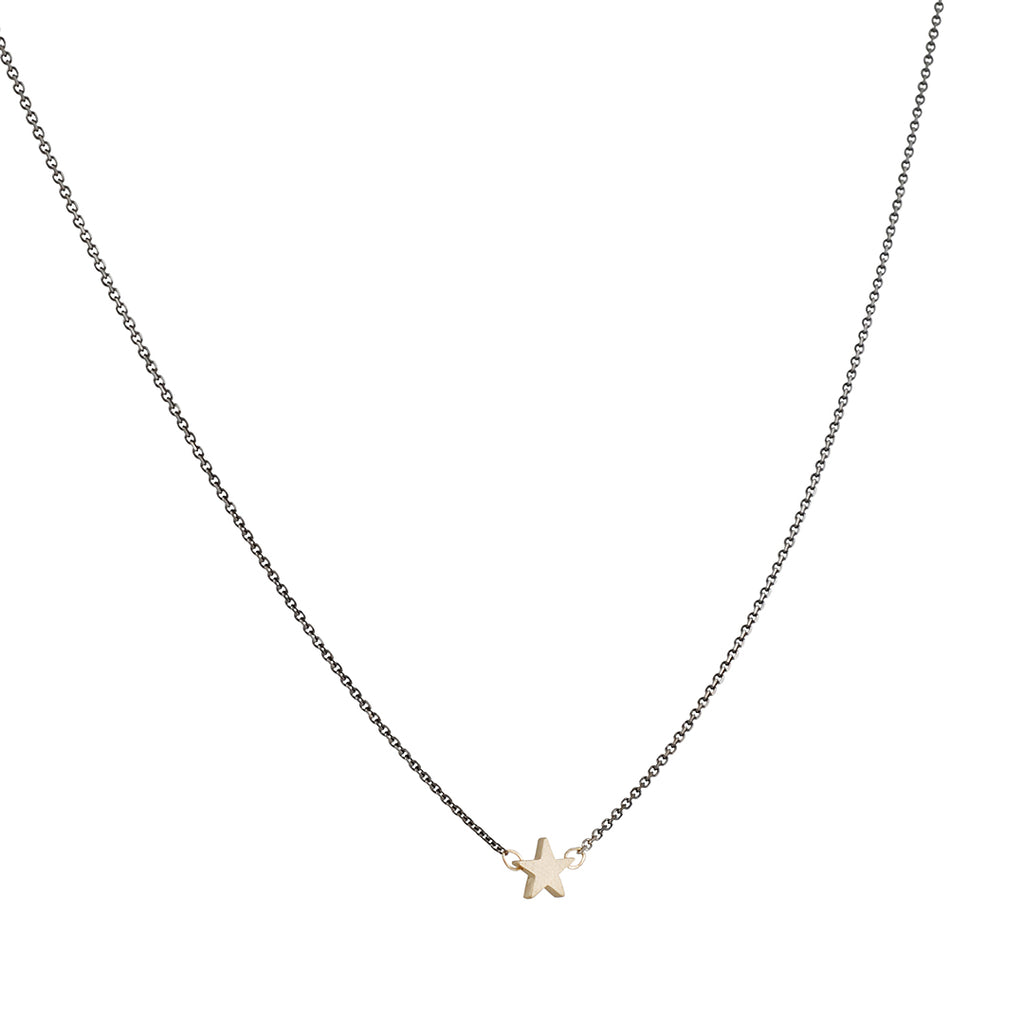 SALE  - Gold Star Necklace