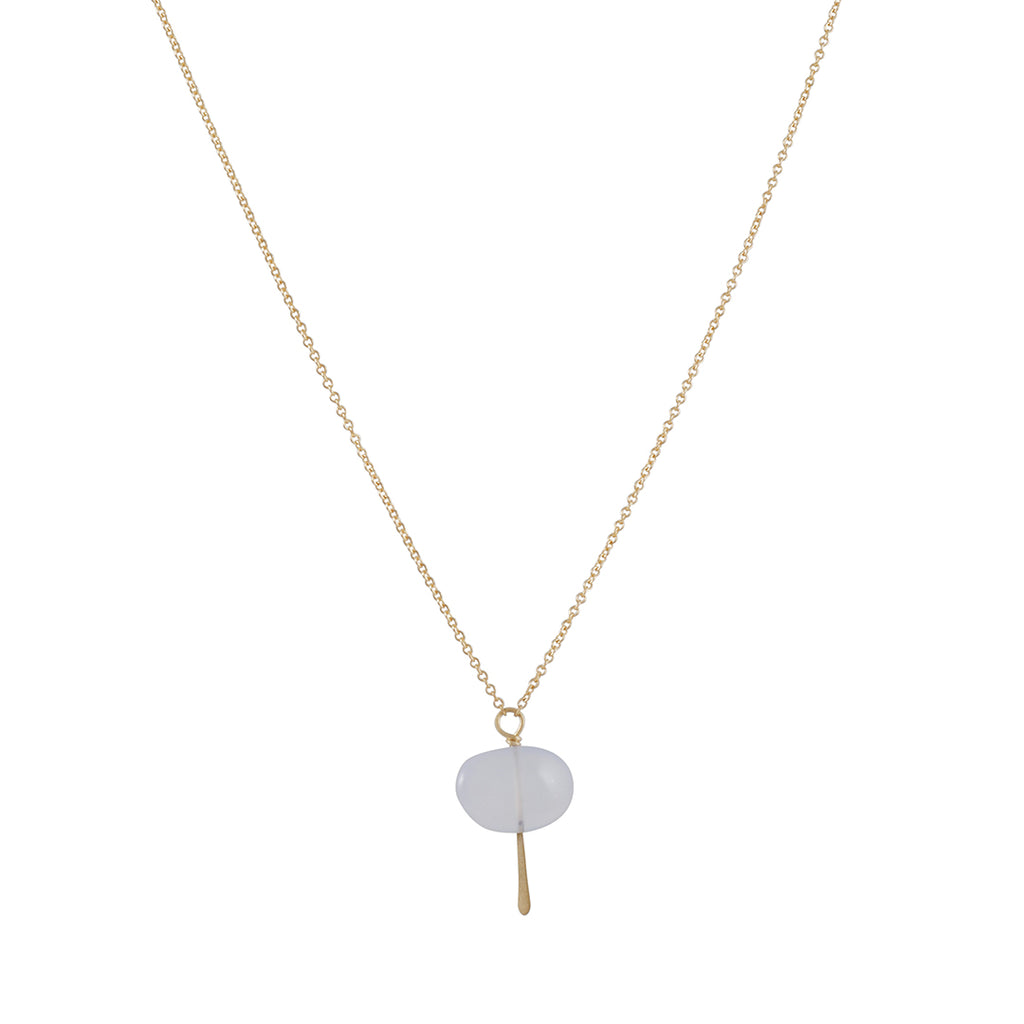 Carla Caruso - Pebble Drop Necklace