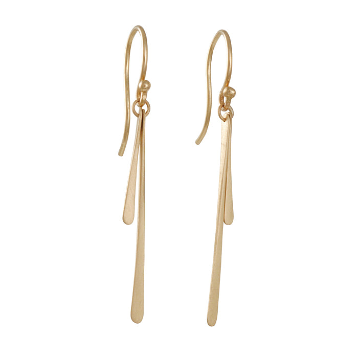 Carla Caruso - Double Fringe Earrings