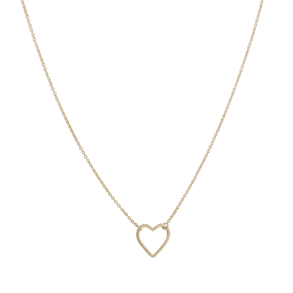 Carla Caruso - Mini Heart Necklace