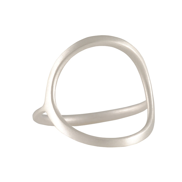 Carla Caruso - Open Circle Ring in Sterling Silver
