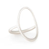 Carla Caruso - Open Oval Ring in Sterling Silver
