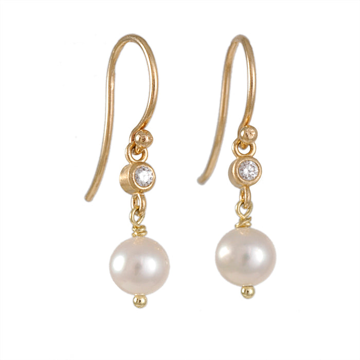 Carla Caruso - Pearl Sparkle Earrings
