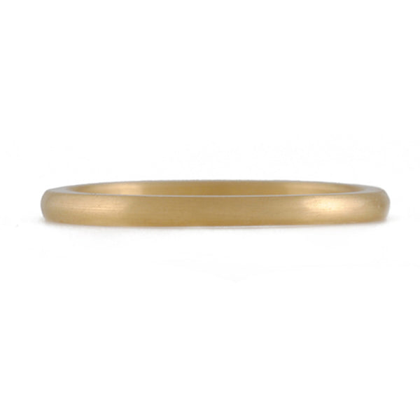 CAROLINE ELLEN- Women's Narrow Square Wedding Band
