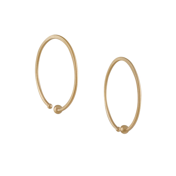 Carla Caruso - Small Loop Hoops