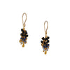 Catherine Weitzman - Blue Sapphire Cluster Earrings